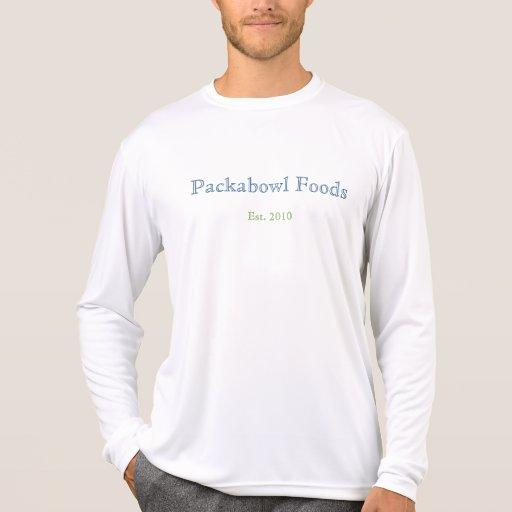 Comidas de Packabowl, Est. 2010 Tee Shirt