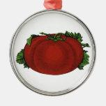 Comidas del vintage, frutas, verduras, tomate madu adorno para reyes