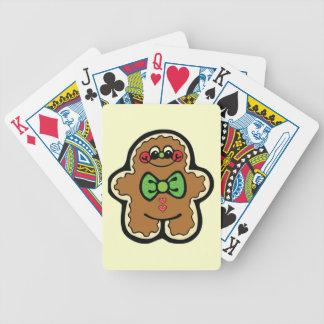COMIDAS LINDAS TRE del INVIERNO de las GALLETAS de Baraja Cartas De Poker