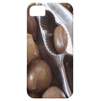 COMIDAS NUTS PHOTOGRAP DEL METAL PLATEADO DEL CASC iPhone 5 Case-Mate CARCASAS