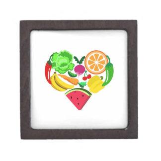 comidas sanas del corazón cajas de regalo de calidad