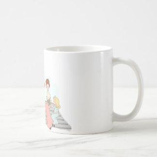 Comience a leer taza básica blanca