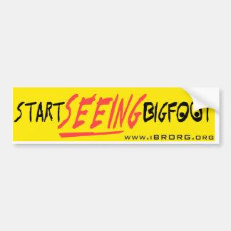 Comience a ver Bigfoot 2 Pegatina Para Auto
