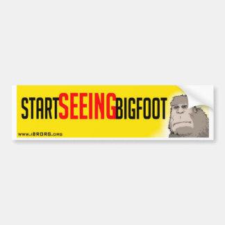 Comience a ver Bigfoot Pegatina Para Auto