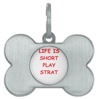 comience el béisbol placas de nombre de mascota