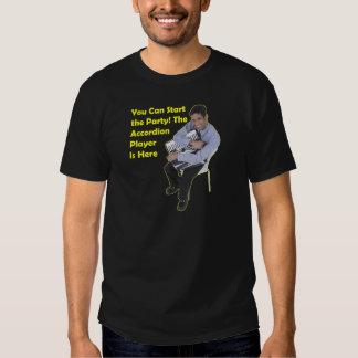 ¡Comience el fiesta! (Acordeón) Camisas