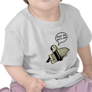 ¡Comience el fiesta! (Acordeón) Camisetas