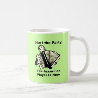¡Comience el fiesta! Tazas