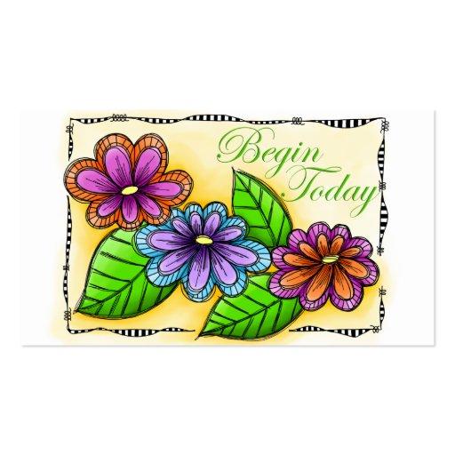 Comience hoy tarjetas de visita