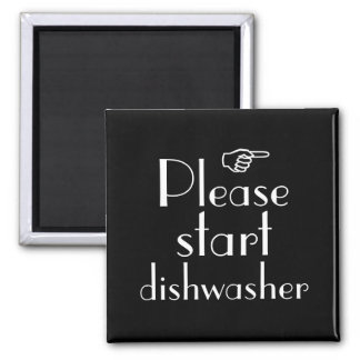 Comience por favor la plantilla del imán del lavap
