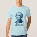 Comience sobre la camiseta de George Washington Remera