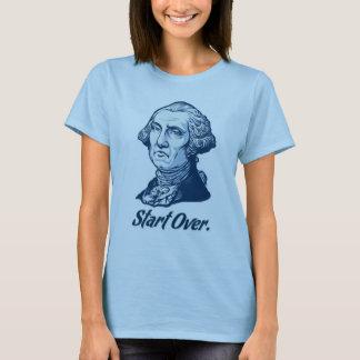 Comience sobre la WashingtonT-Camisa de George Playera