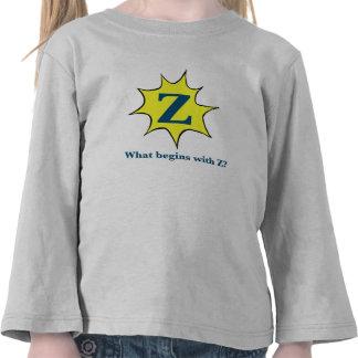 Comienzo con el Z. Camiseta