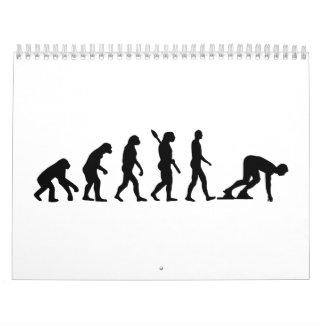 Comienzo corriente de la evolución calendario