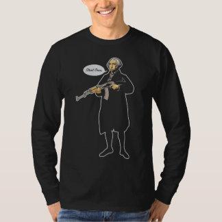Comienzo de George Washington sobre la camisa