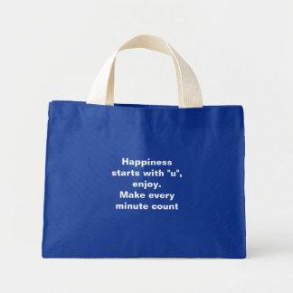 """Comienzo de la felicidad con la bolsa de asas de """""""