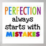 Comienzo de la perfección con errores poster
