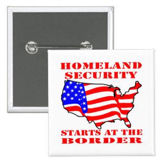 Comienzo de la seguridad de patria en la frontera pin