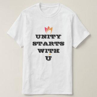 COMIENZO de la UNIDAD CON la camiseta de encargo Poleras