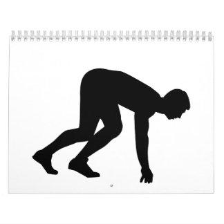 Comienzo del corredor calendarios