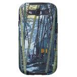 Comienzo del verano de bambú fresco de Shiro Kasam Galaxy S3 Carcasas
