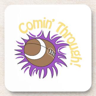 Comin' Through! Beverage Coasters
