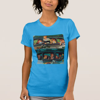 Coming and Going by Norman Rockwell T-Shirt