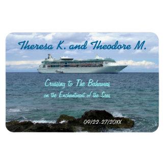 Coming Ashore Custom Door Marker Rectangular Photo Magnet