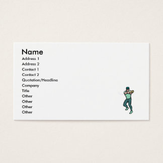 Coming at you batter business card