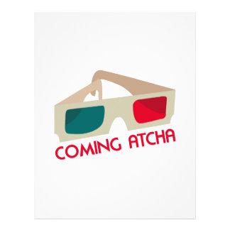 Coming Atcha Custom Letterhead