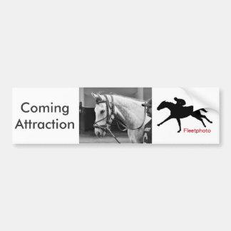 Coming Attraction Bumper Sticker