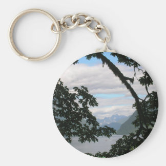 Coming Home Basic Round Button Keychain