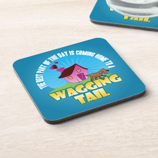 Coming Home Drink Coaster