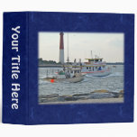 Coming Home - Fishing Boats in Barnegat Inlet Item 3 Ring Binder
