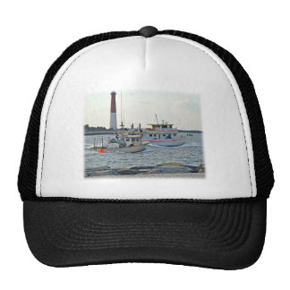 Coming Home - Fishing Boats in Barnegat Inlet Item Mesh Hats