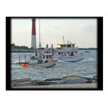 Coming Home - Fishing Boats in Barnegat Inlet Item Postcards