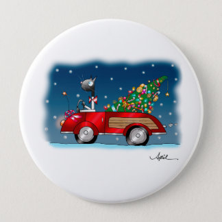 """""""COMING HOME FOR CHRISTMAS"""" Button"""