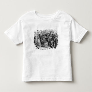 Coming home from church toddler t-shirt