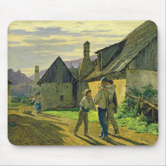 Coming home from the war, 1859 mouse pad