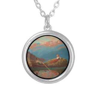 Coming Home from Work Silver Plated Necklace