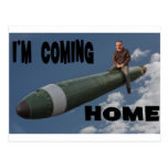 coming home post card