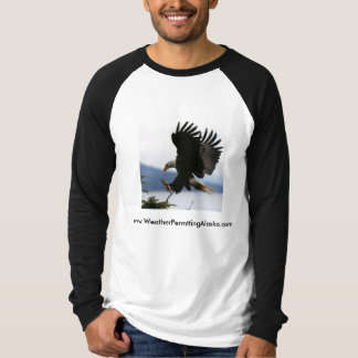 Coming in for landing tee shirt