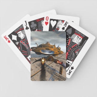 Coming in Hot Bicycle Playing Cards
