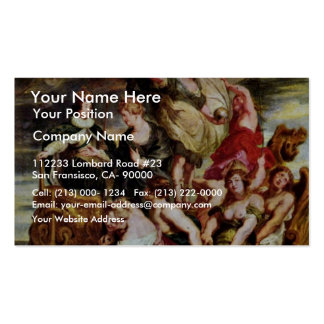 Coming Of Age Of The Dauphin, Louis Xiii. Double-Sided Standard Business Cards (Pack Of 100)
