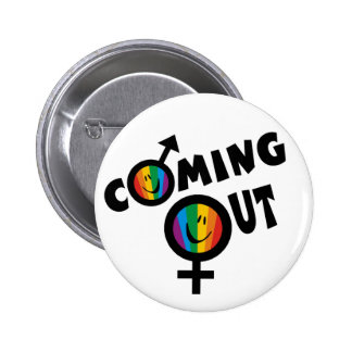 Coming Out Button