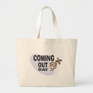 Coming Out day Canvas Bags