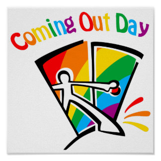 Coming out day print