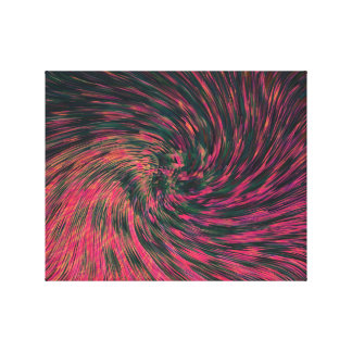 COMING OUT OF THE HYPERDRIVE IN THE QUIAM SYSTEM CANVAS PRINT