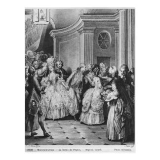 Coming out of the Opera Postcard