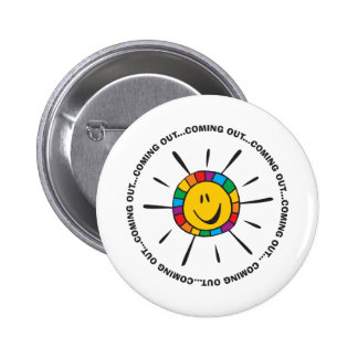 Coming Out Pinback Button
